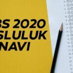 5. Sınıf 2020 Bursluluk Soruları